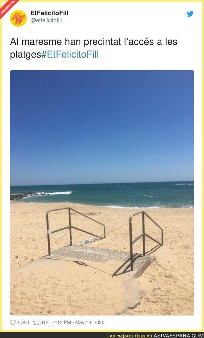 148705 - Ya no hay manera de pasar al mar