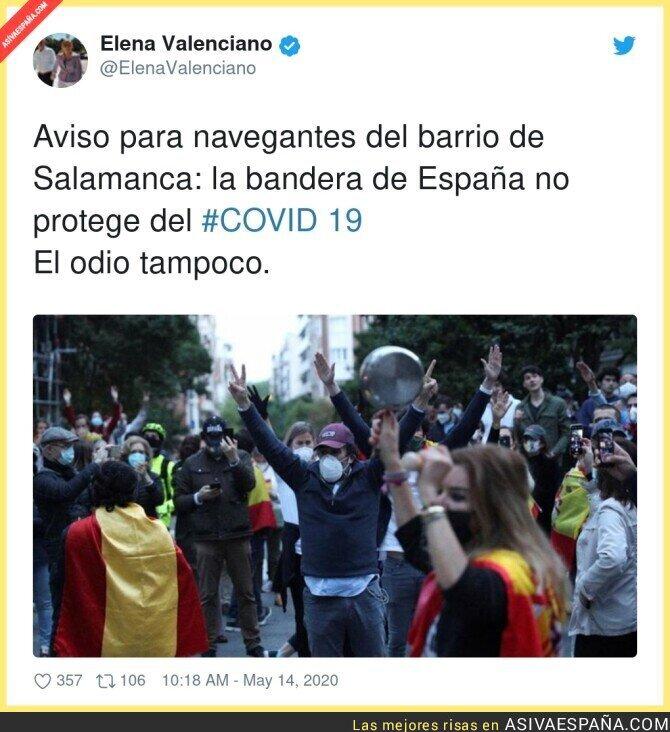 148711 - La irresponsabilidad de los pijos del Barrio Salamanca