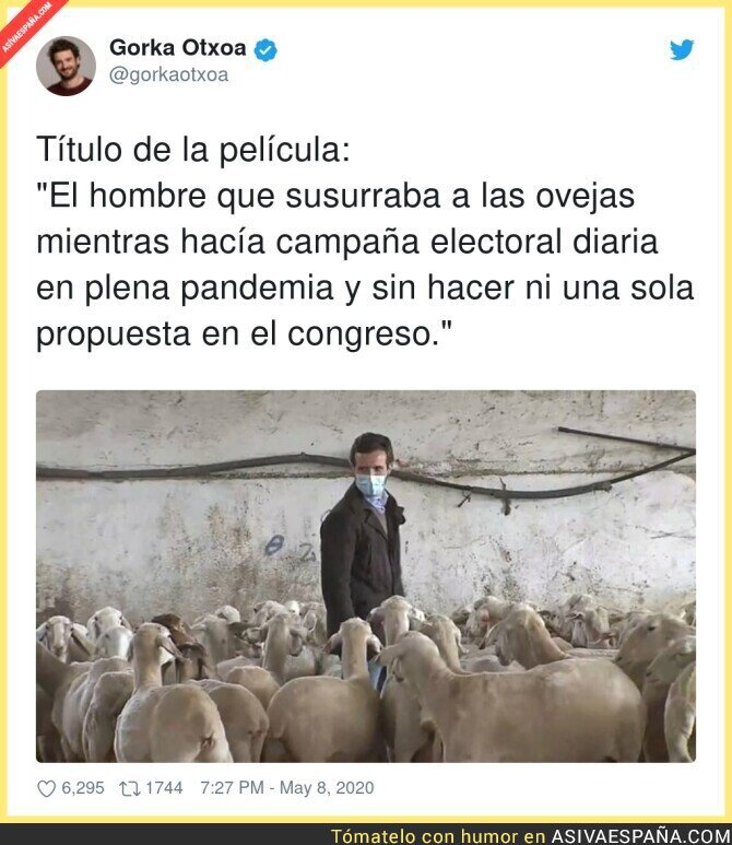 152556 - Así es Pablo Casado en plena pandemia