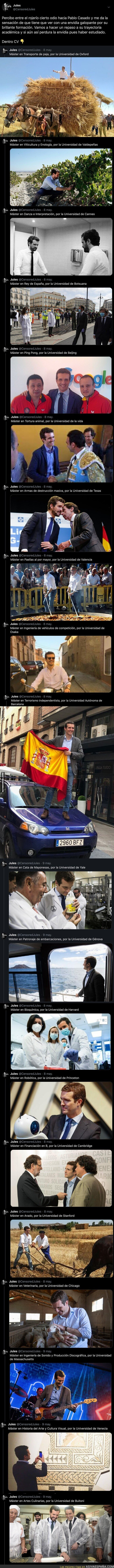 157398 - Pablo Casado tiene el mejor curriculum de España y todas estas imágenes lo confirman por completo