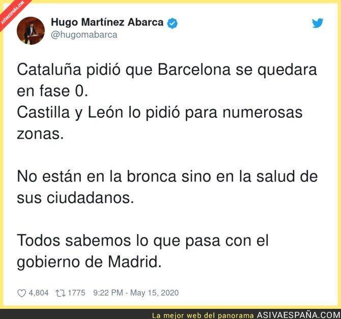160014 - Gobierno de Madrid irresponsables
