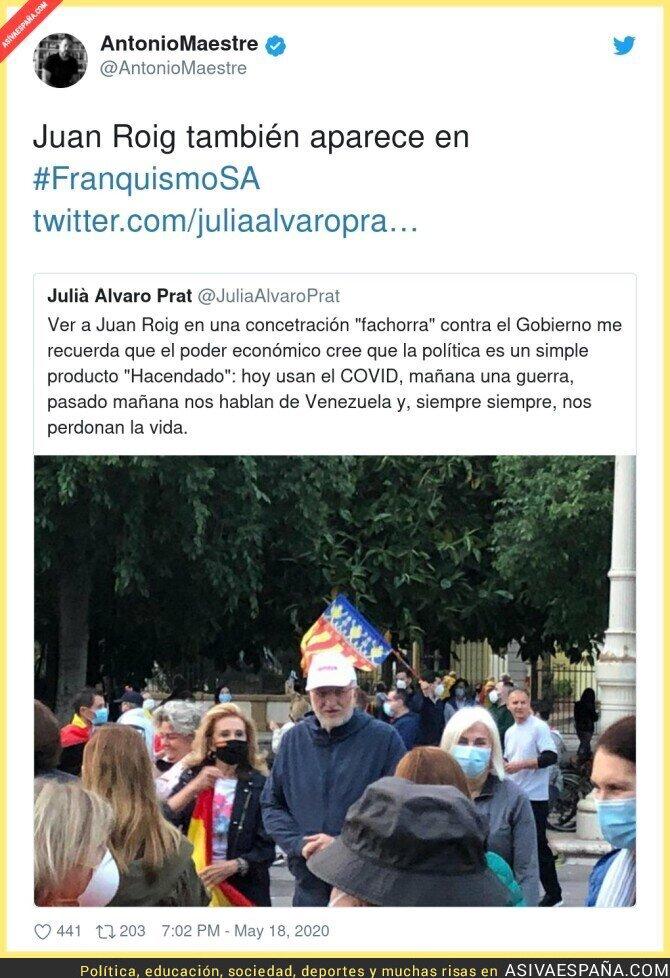 164820 - Juan Roig se une a las protestas
