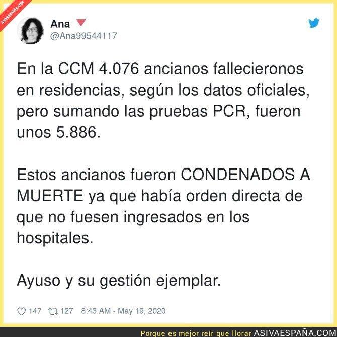 165805 - La nefasta gestión de Isabel Díaz Ayuso