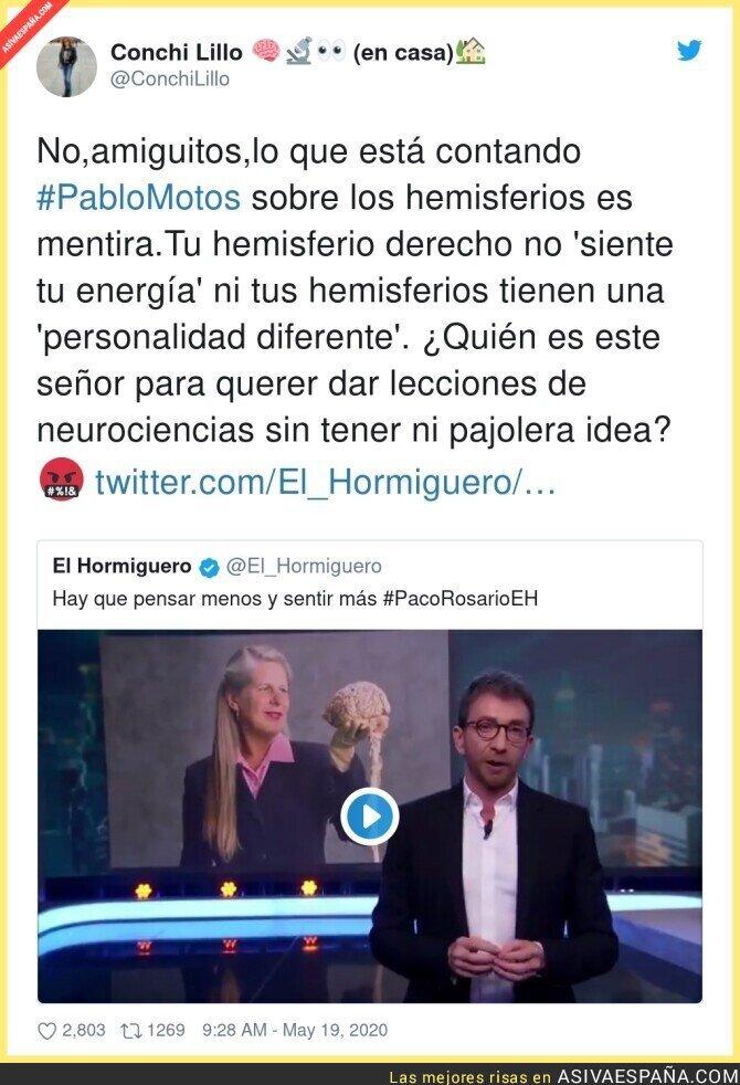 167215 - Pablo Motos hablando de algo que desconoce por completo