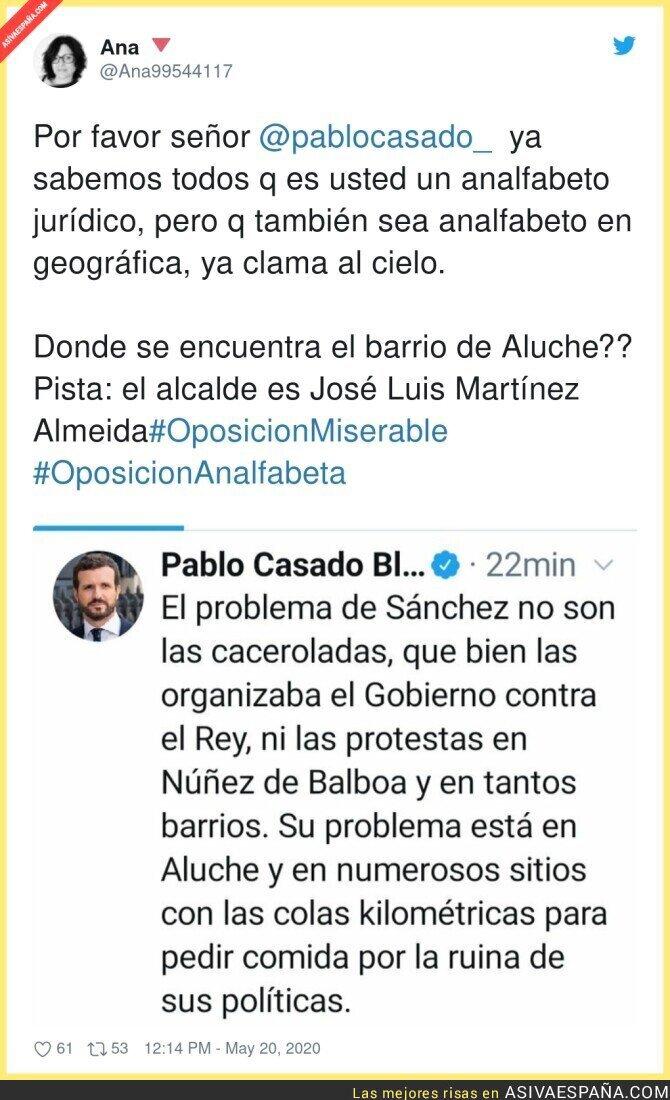 169099 - Pablo Casado no sabe quien gobierna en Aluche
