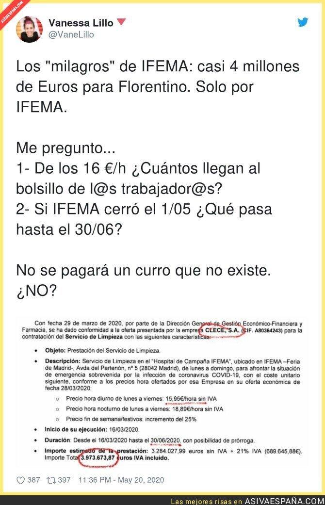 172071 - Se empiezan a conocer las cifras del escándalo de IFEMA