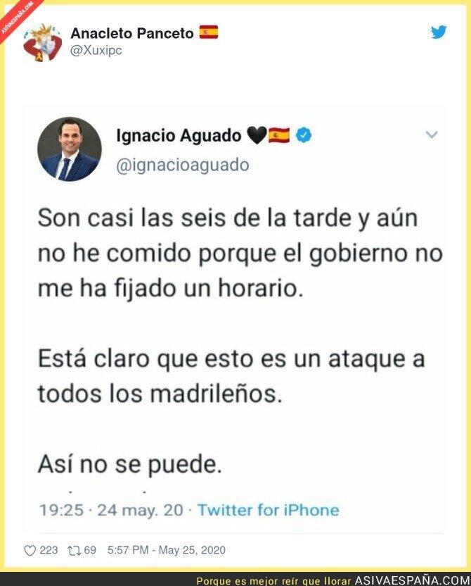 182041 - Ignacio Aguado necesita un cuidado especial