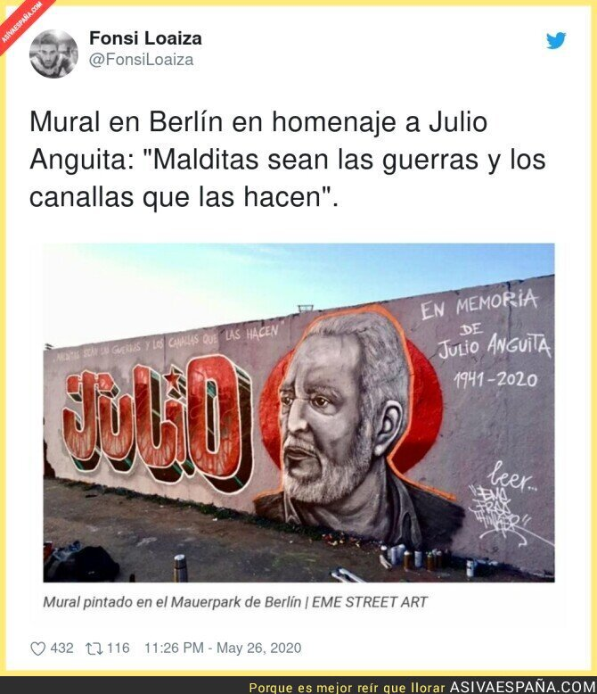 184539 - Un gran homenaje a Julio Anguita