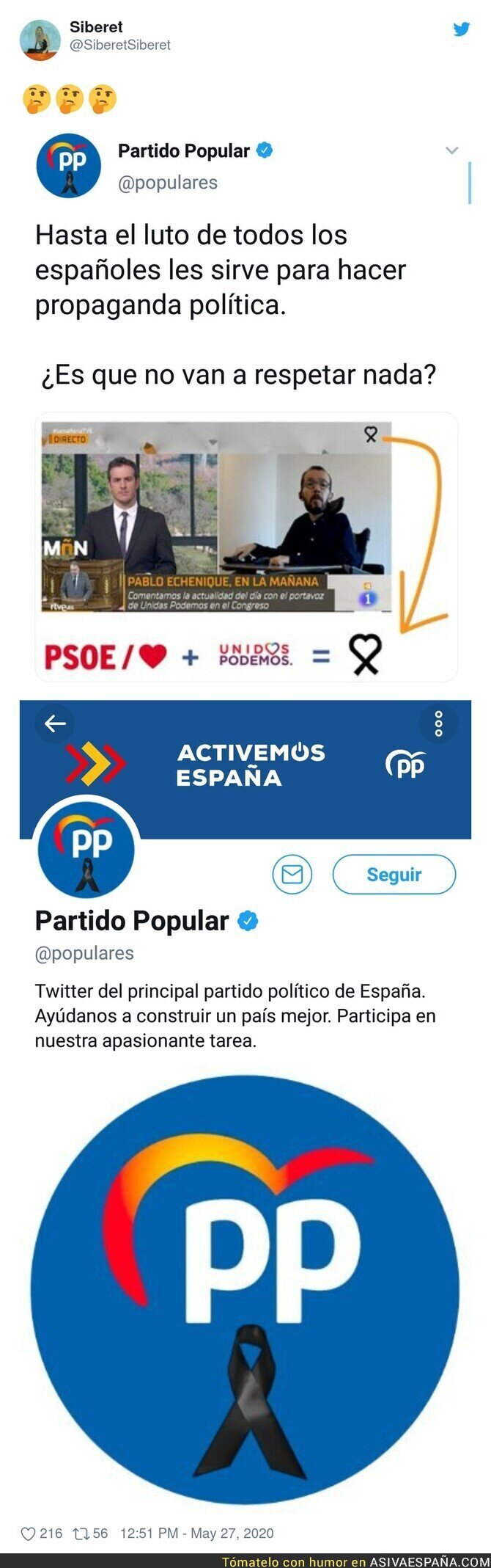 185589 - El Partido Popular hace un ridículo monumental al decir que TVE usa el corazón de PSOE y Podemos por este detalle