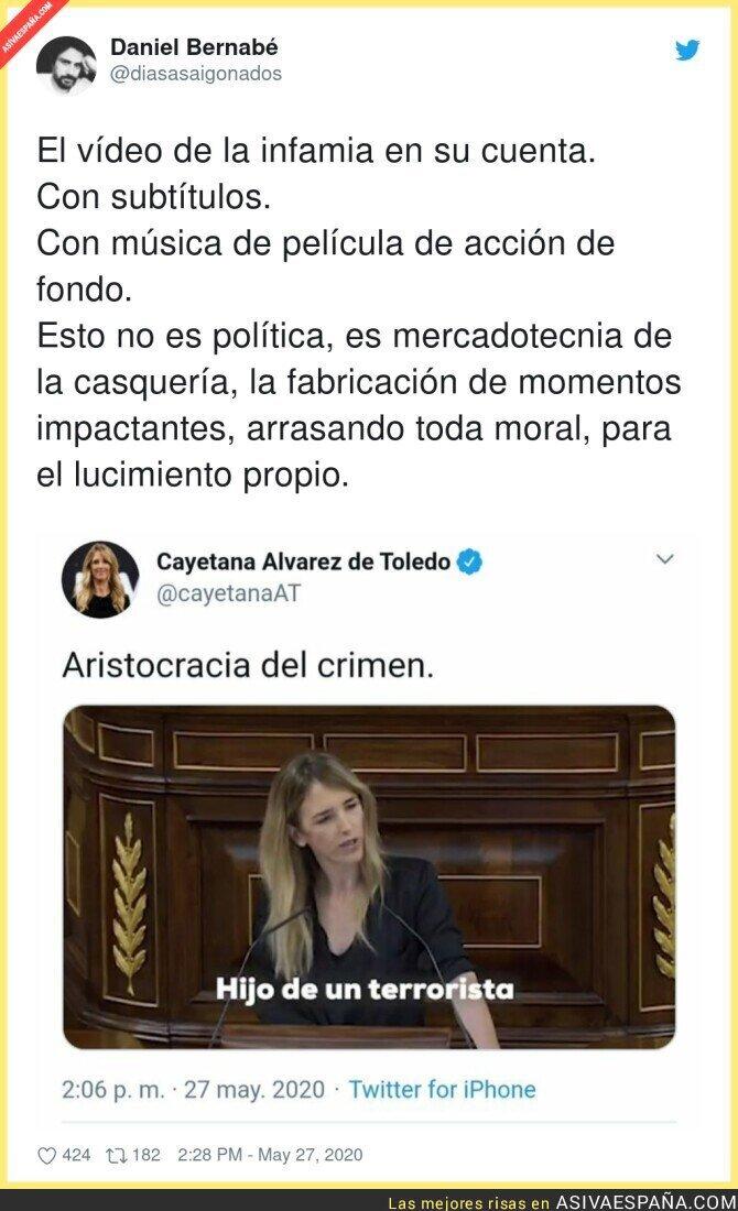 186020 - Cayetana Álvarez de Toledo ha sobrepasado todos los límites