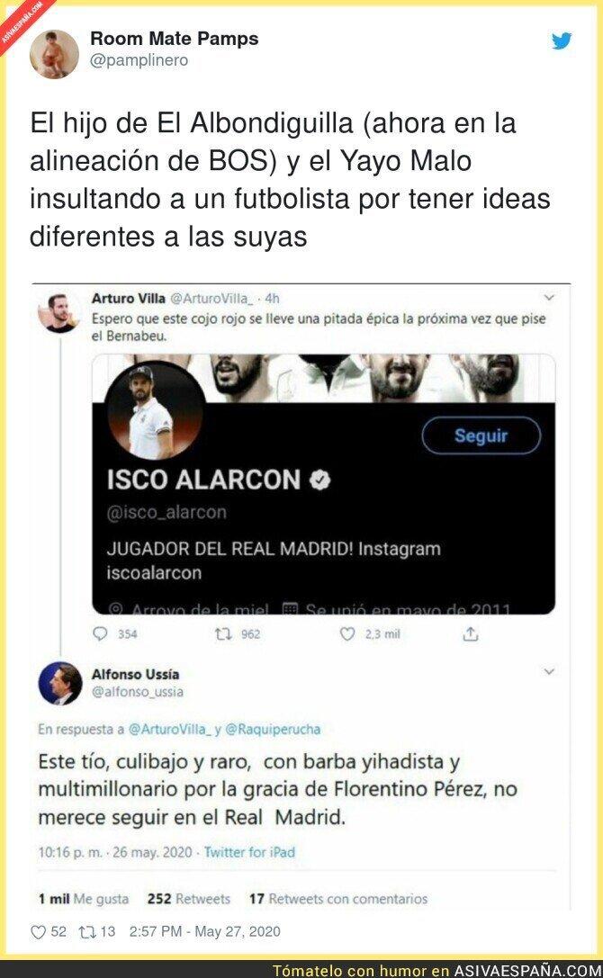 186595 - Si Alfonso Ussía está contra Isco eso hace que me guste más el jugador