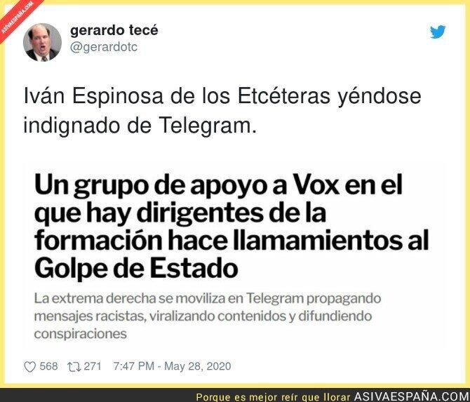 188966 - El brazo armado de VOX es Telegram