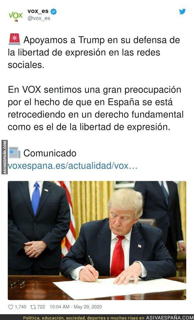 189963 - VOX de acuerdo con Trump