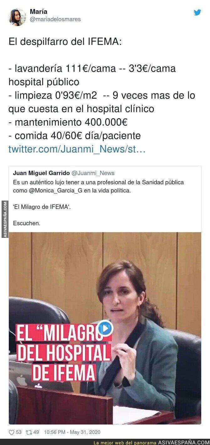 196004 - Isabel Díaz Ayuso y su gran escándalo con IFEMA