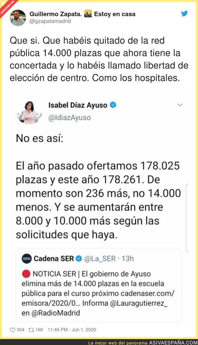 198766 - Seguid aplaudiendo a Isabel Díaz Ayuso