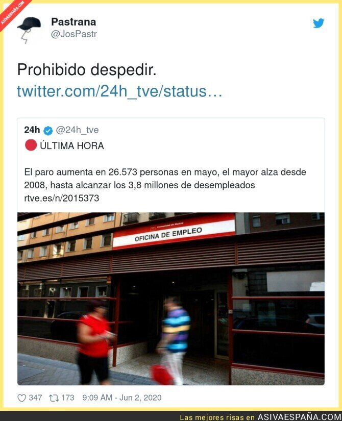 199150 - En España se sigue despidiendo gente pese a la pandemia