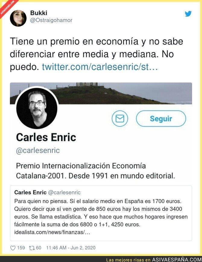 200189 - El nivel de Carles Enric es lamentable