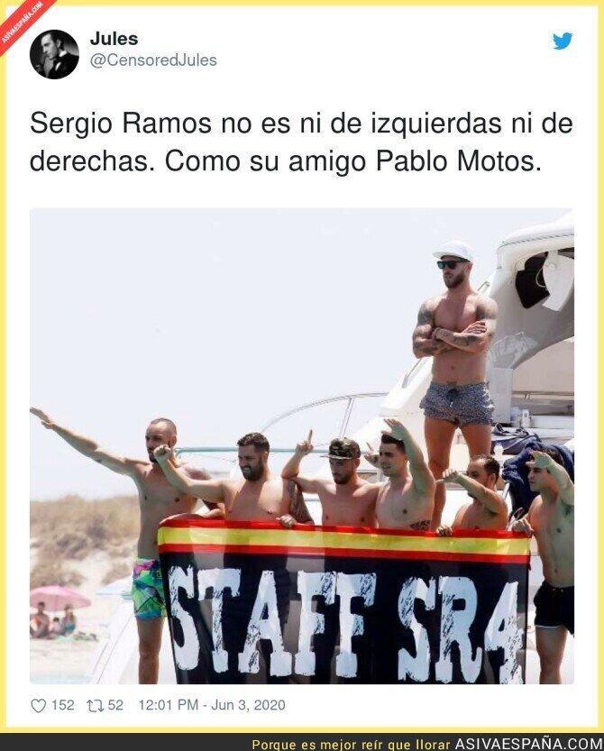 202051 - La ideología de Sergio Ramos más clara que nunca