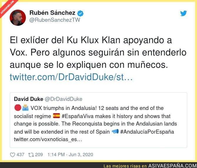 202205 - Podemos asumir entonces que como Podemos y Otegi se codean mutuamente, Podemos es ETA, por @RubenSanchezTW