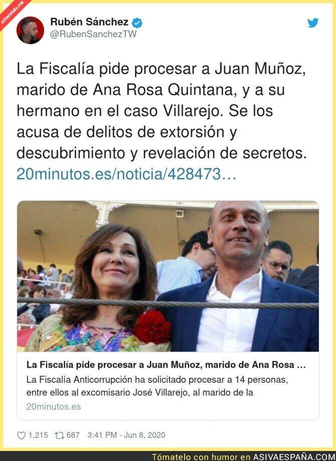 212740 - ¿A qué espera Ana Rosa para dar la noticia en su programa?