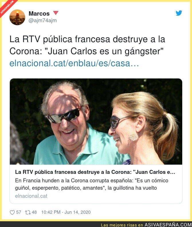 224701 - La prensa extranjera poniendo en su sitio a Juan Carlos I