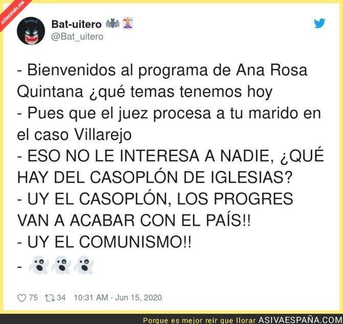 224729 - La buena información en El programa de Ana Rosa
