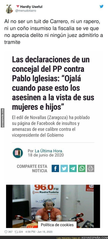 230947 - Las terribles declaraciones de este concejal del PP contra Pablo Iglesias