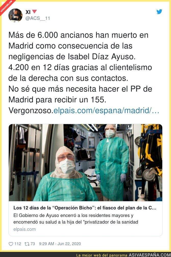 236482 - Es un auténtico crimen lo que ha hecho el PP en Madrid