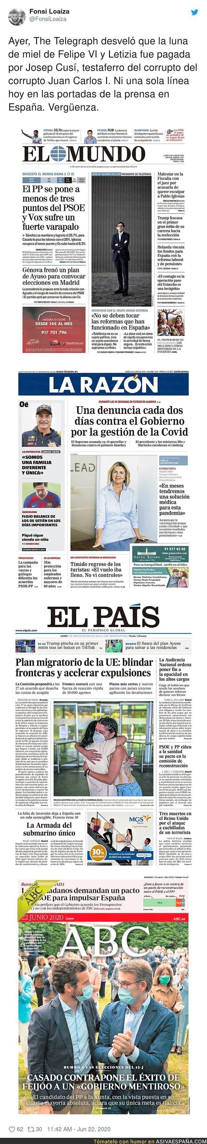 236580 - La prensa de España vendida a la monarquía
