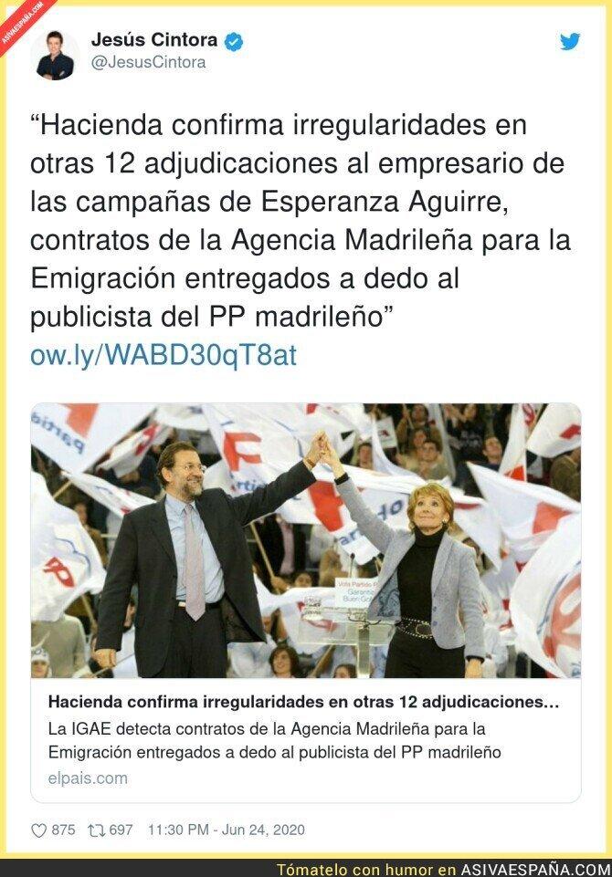 240957 - Más escándalos en el PP de Esperanza Aguirre