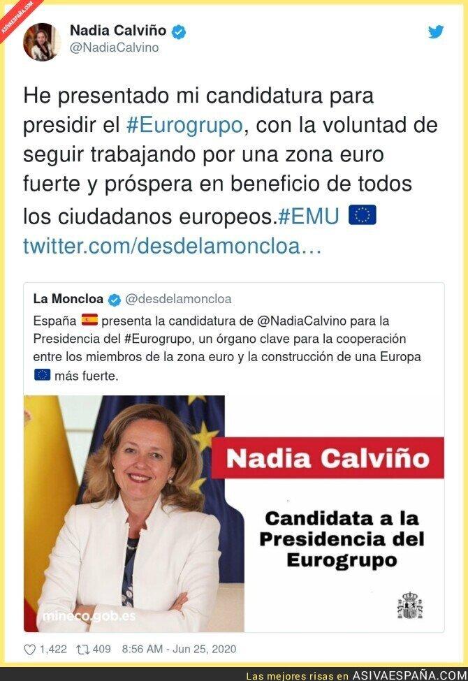 241156 - Muy buena noticia para la UE y para España