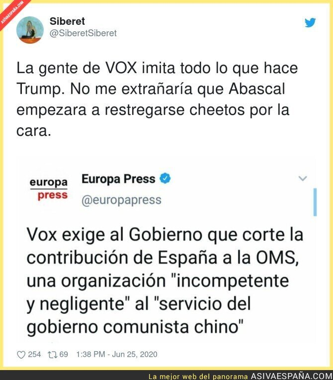 241452 - A VOX le encanta todo lo que huele a Trump