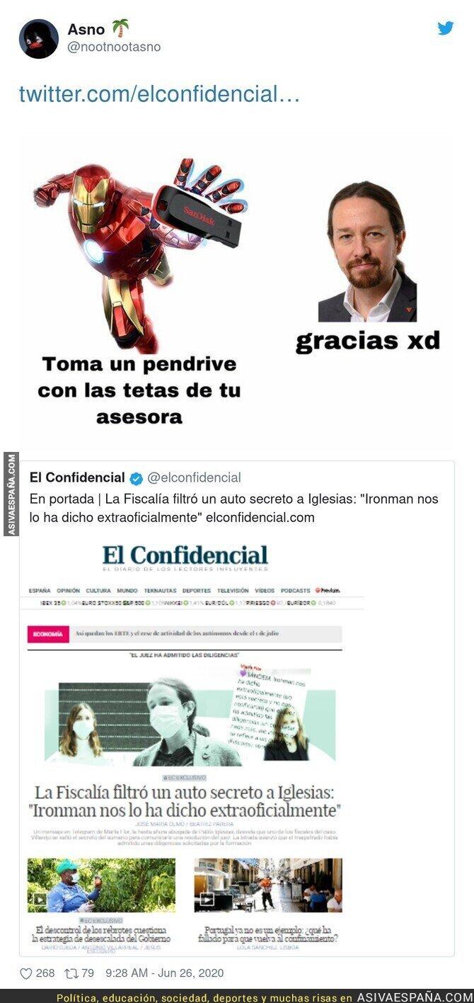 242767 - Iron Man entra de lleno en la lucha política de España
