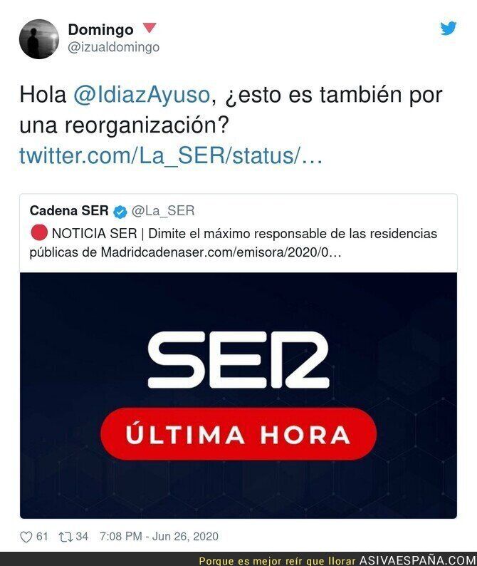 243365 - Otro escándalo en la Sanidad de Madrid con Isabel Díaz Ayuso al frente