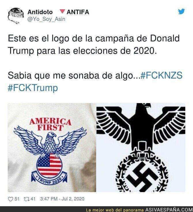 253277 - La fina línea que separa a Trump con el nazismo