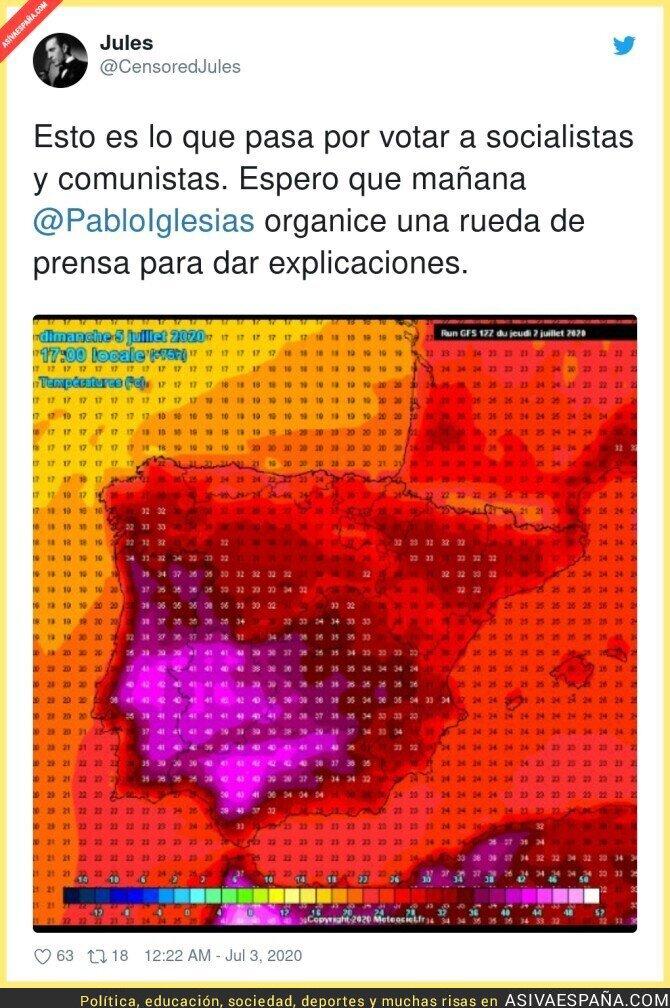 253292 - Insoportable calor en España por culpa de los soviets