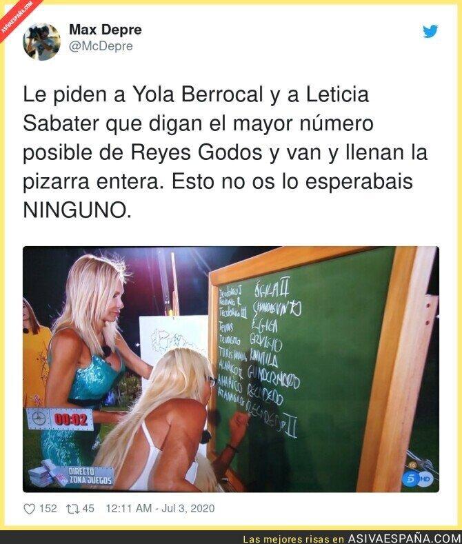 253486 - Yola Berrocal y Leticia Sabater dan una lección a España