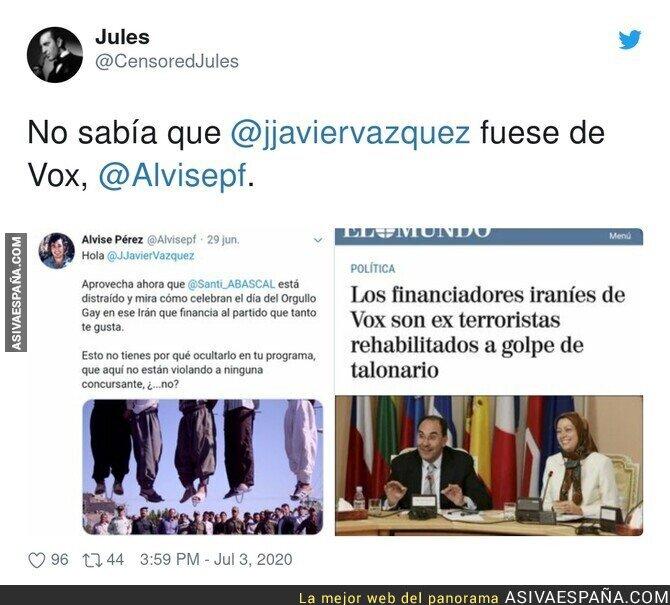 253996 - Jorge Javier Vázquez es de VOX