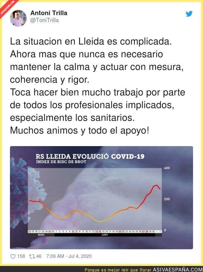 255021 - El gran peligro de los rebrotes empieza en Lleida