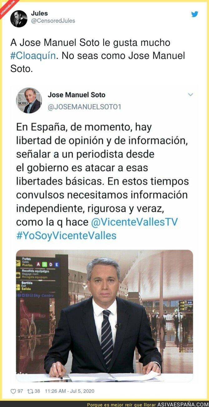 256595 - José Manuel Soto también está a favor de Cloaquín