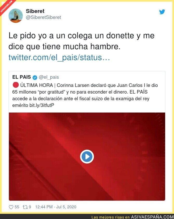 256710 - La generosa gratitud con las examigas del Rey Emérito Juan Carlos