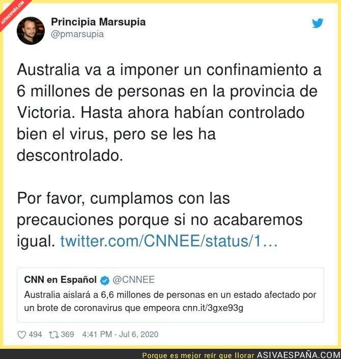 259236 - No hay que relajarse ante el coronavirus