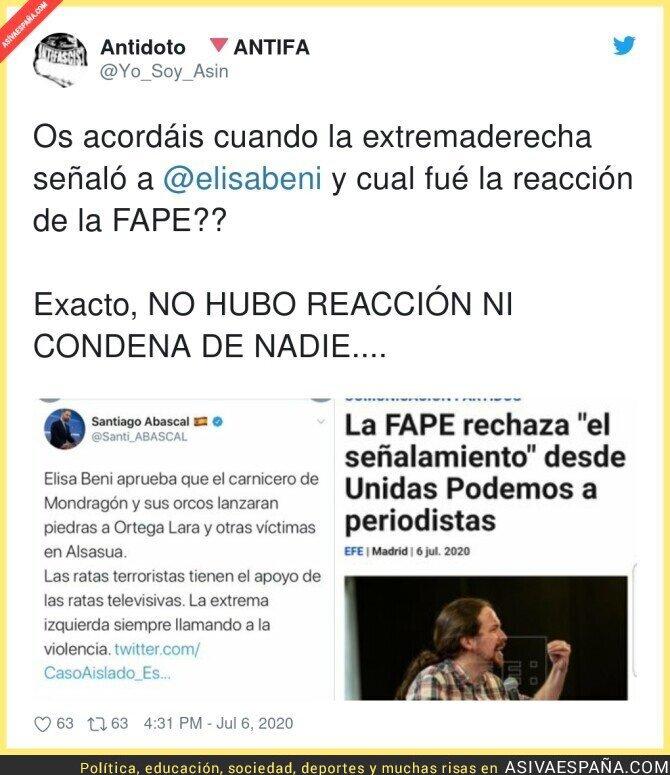 259536 - Así es la FAPE cuando ataca a periodistas de izquierdas