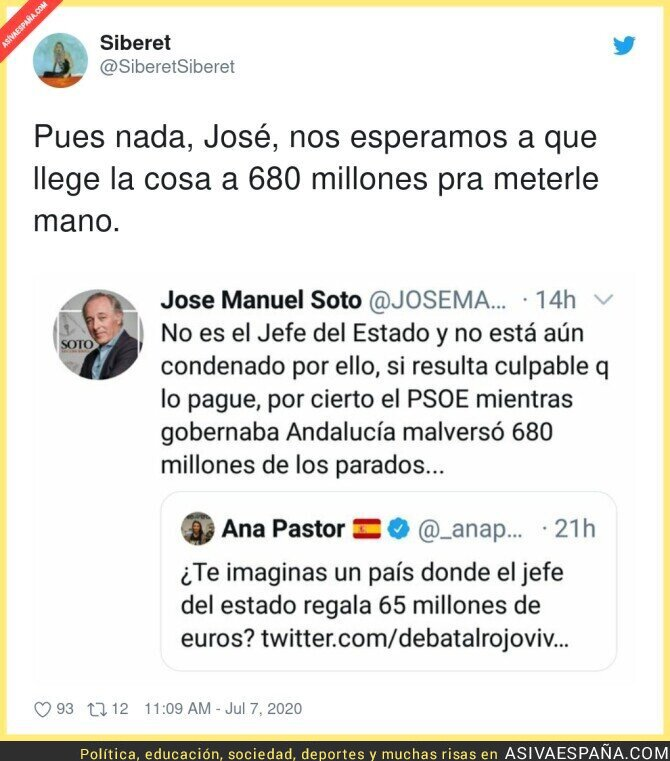 260102 - José Manuel Soto intentando aguantar la vela de la corrupción