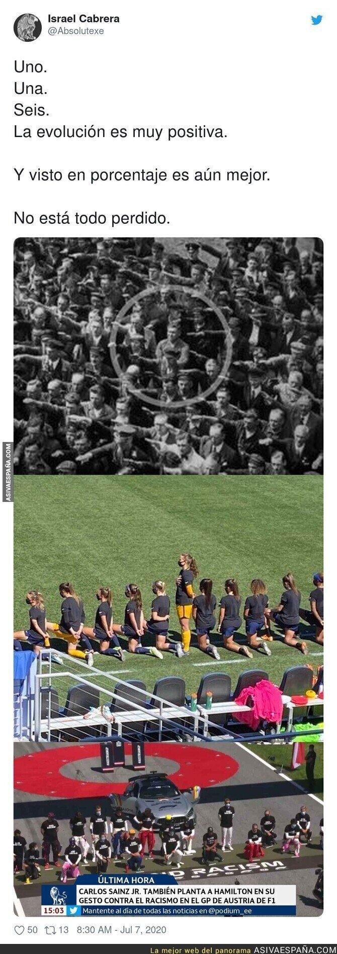 260163 - Hay gente dispuesta a no arrodillarse ante el racismo