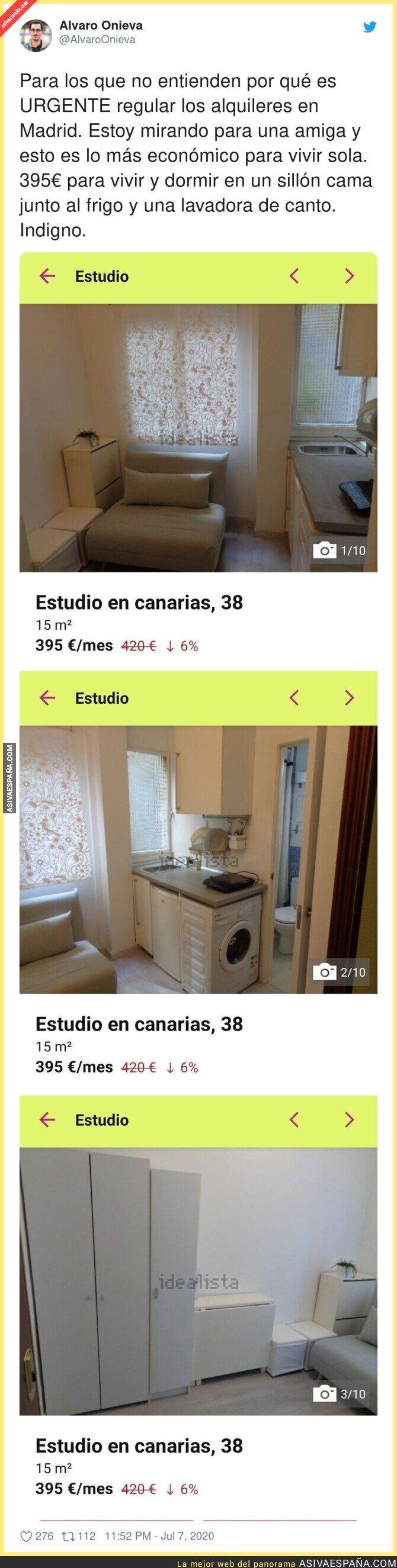 261797 - Atención a las imágenes del sitio más barato para vivir en Madrid