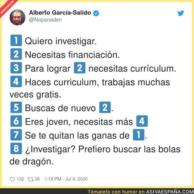 263793 - Investigar en España no es fácil