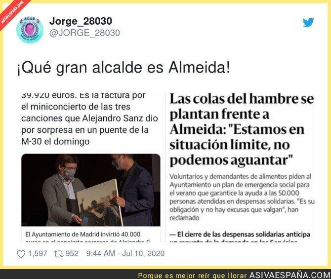 265730 - Para Alejandro Sanz si había dinero en Madrid