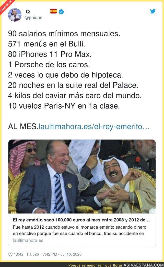 266173 - La vida a todo lujo del Rey emérito Juan Carlos I