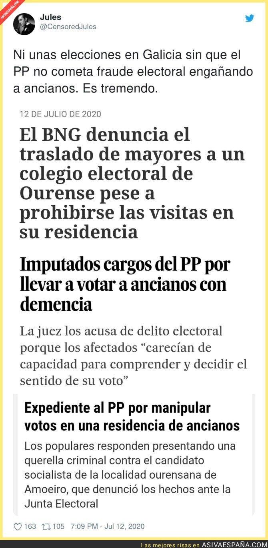 268861 - El PP tiene vía libre con los ancianos en Galicia